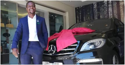EFF fan poses with new whip for 'escorting Malema to Union Buildings'