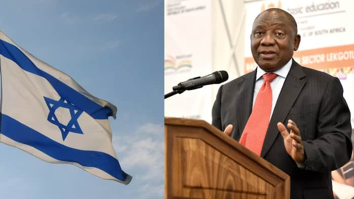 President Cyril Ramaphosa compares Israel to an 'apartheid state'
