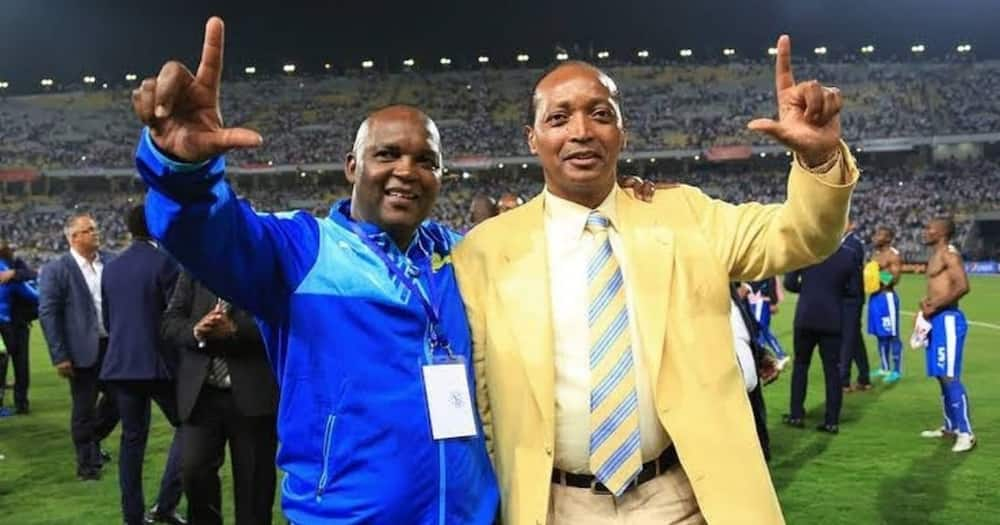 Mamelodi Sundowns have sued former coach Pitso Mosimane for R8 million. Image: TheRealPitsoMosimane/Instagram