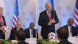 Motsepe rubs shoulders with Trump and Fifa boss, Mzansi freaks out