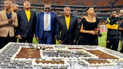 Kaizer Chiefs celebrate 50th by beating Highlands Park, fans react