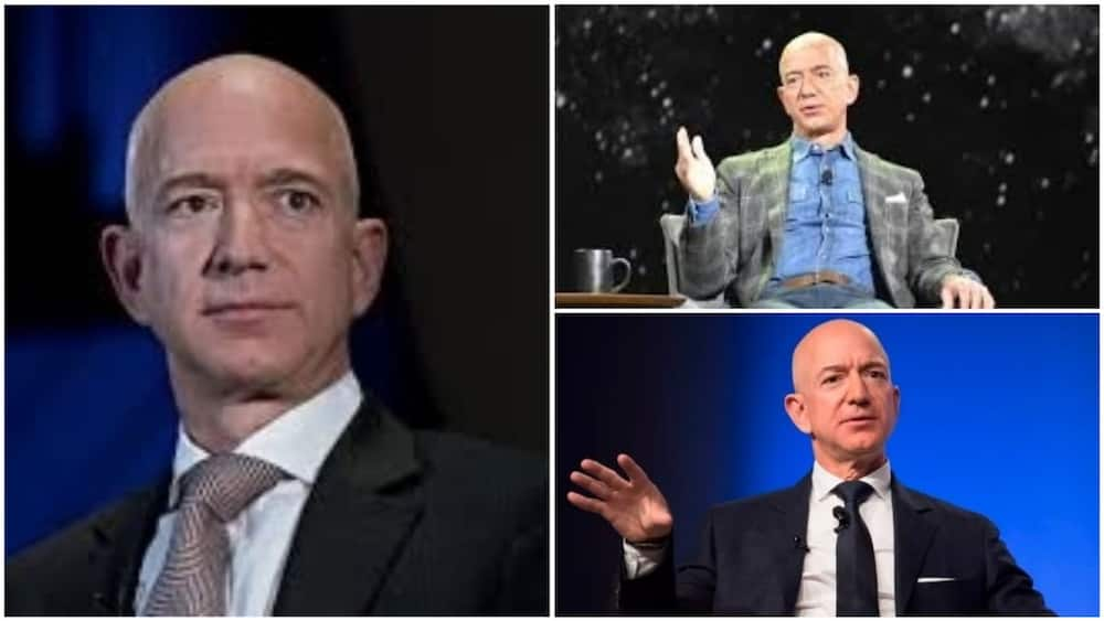 A collage of the richest man on the planet. Photos sources: CNET/CNBC/INC