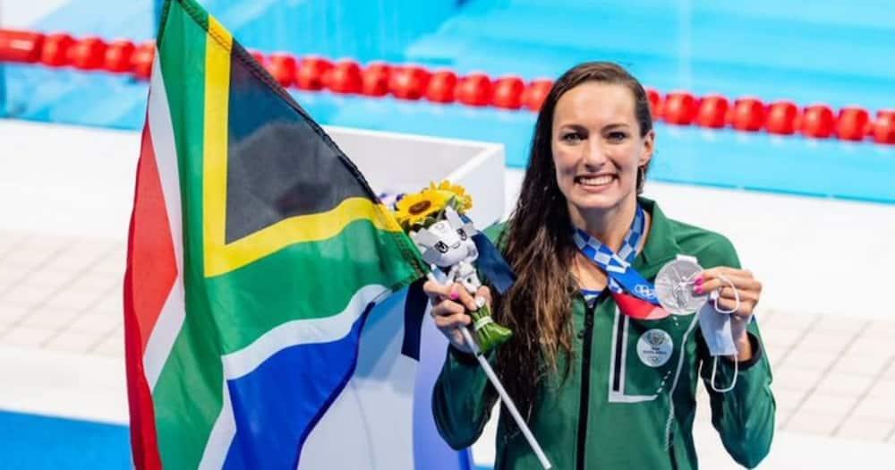 South Africans, Celebrate, Tatjana Schoenmaker, Tokyo Olympics