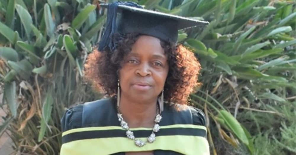 Lady who matriculated at 43 earns electrical engineer degree at 64