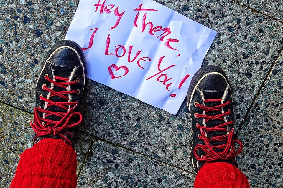 Madison : Love messages to make him smile