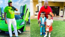 Wild ride: Kenny Kunene went from criminal to loving dad and formidable businessman