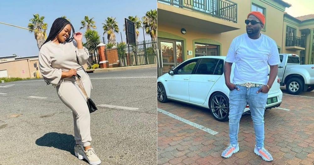 Maphorisa, chats to Boohle, after she was slammed, for spilling tea, on 'Siyathandana'