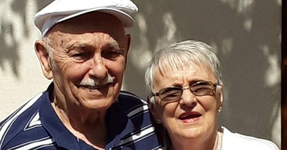 Couple celebrates 60th wedding anniversary