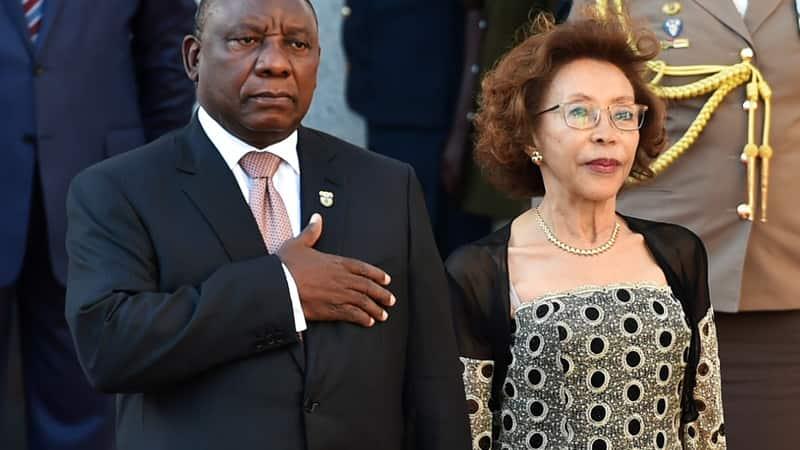 Andile Ramaphosa parents