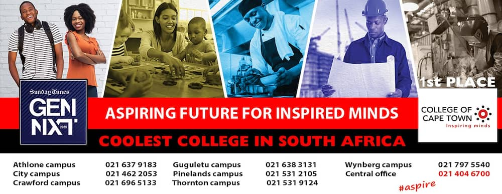 List of all colleges in Cape Town in 2021