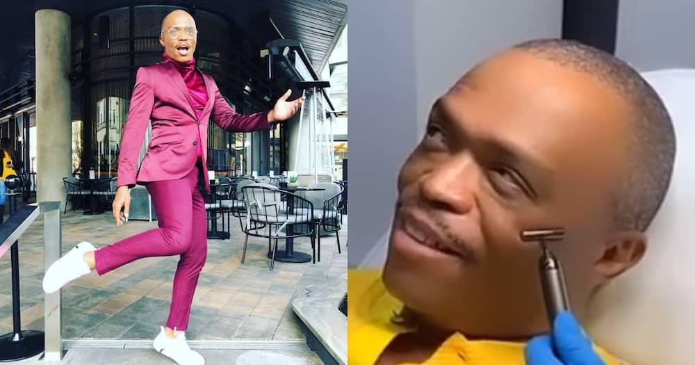 Somizi, Botox treatment, Pharrel Williams, celebrity