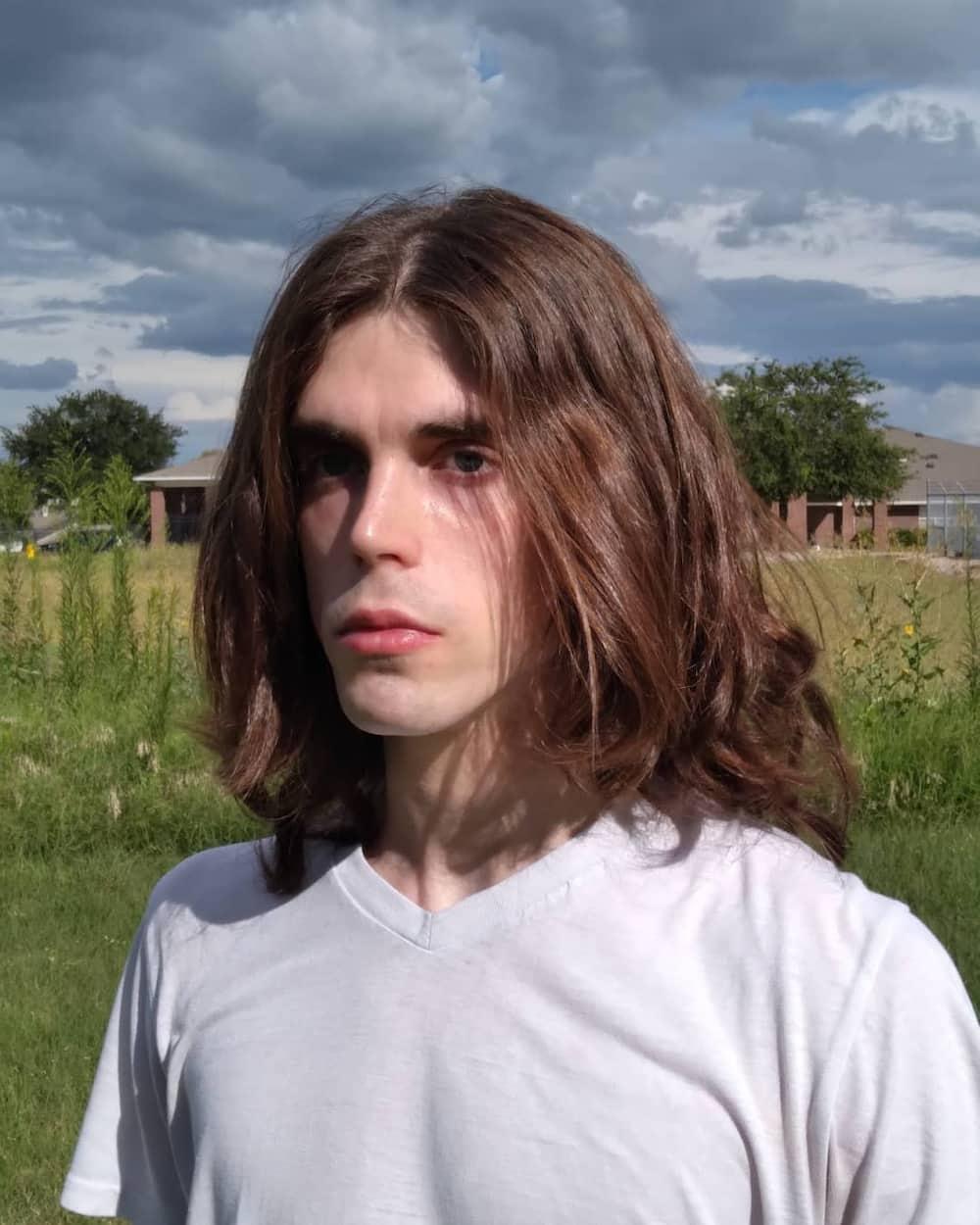 emo haircut eboy