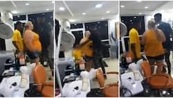 Woman steps up to defend bae and gets surprised with a proposal, video goes viral