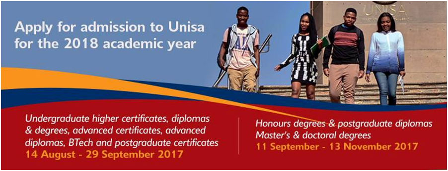 Unisa application 2018 unisa application contact number unisa track your application unisa nsfas application form