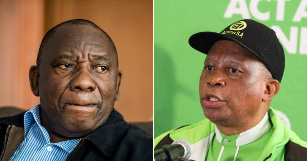 Political Party, Cyril Ramaphosa, Herman Mashaba, ANC, Action SA, Riots, Cluster Ministers, Public violence, Business owners, Executive Mayor of Johannesburg