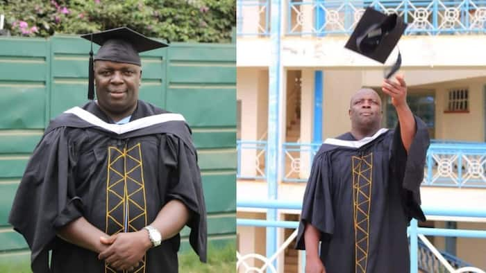 God's time: Man who spent 22 years in primary school finally graduates with degree