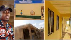 Man takes action instead of complaining and paints dilapidated government school