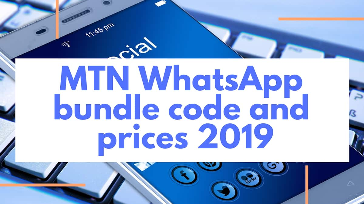 MTN WhatsApp bundle code and prices 2019
