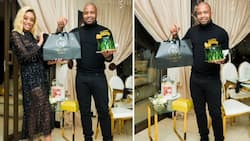 Kaizer Chiefs' Itumeleng Khune shares pic of birthday gifts with lovely wife