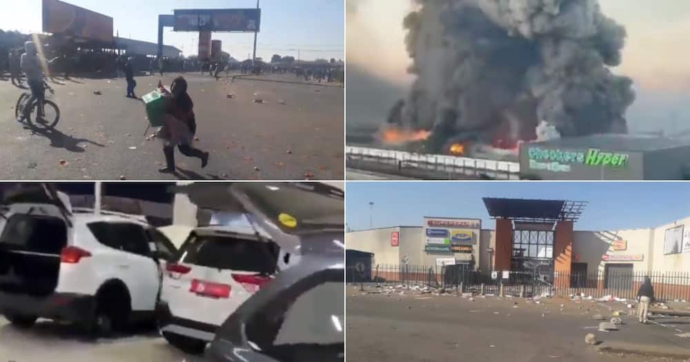 Videos, Zuma Protests, Looting, Violence