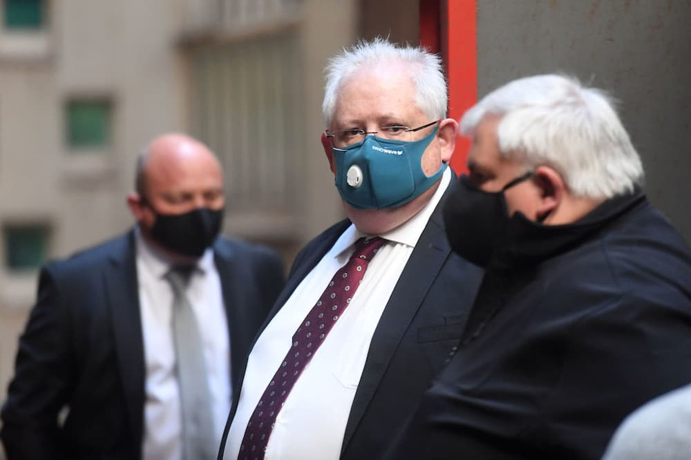 Angelo Agrizzi has nine guards watching him in ICU as he recovers