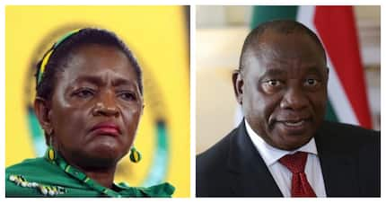 Cyril Ramaphosa defends Bathabile Dlamini and angers Mzansi