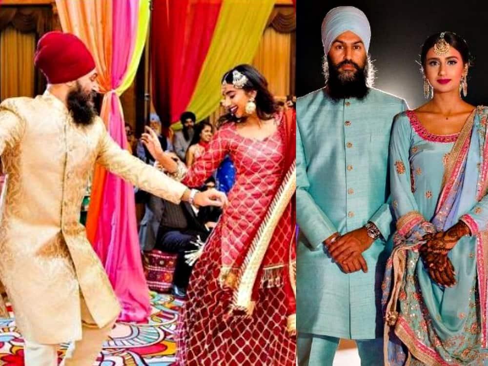 Jagmeet Singh wife Gurkiran Kaur Sidhu