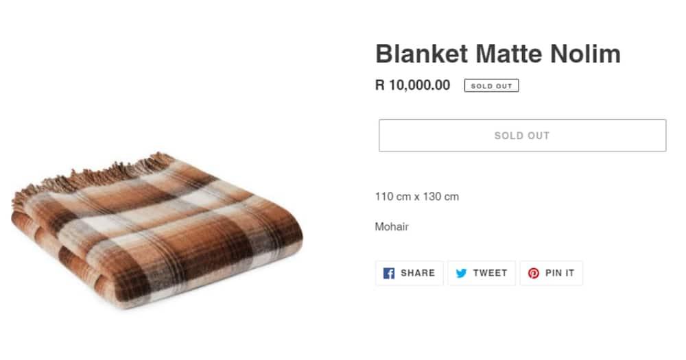 Designers R10 000 Makoti Blankets Sell Out, Mzansi Says Cheaper at Pep