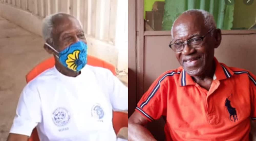 'Joe' Lartey: Meet Ghana's oldest living sports broadcaster who just turned 93 (video)