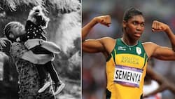 Mzansi reacts to sprinter Caster Semenya's cute photo of lovely daughter