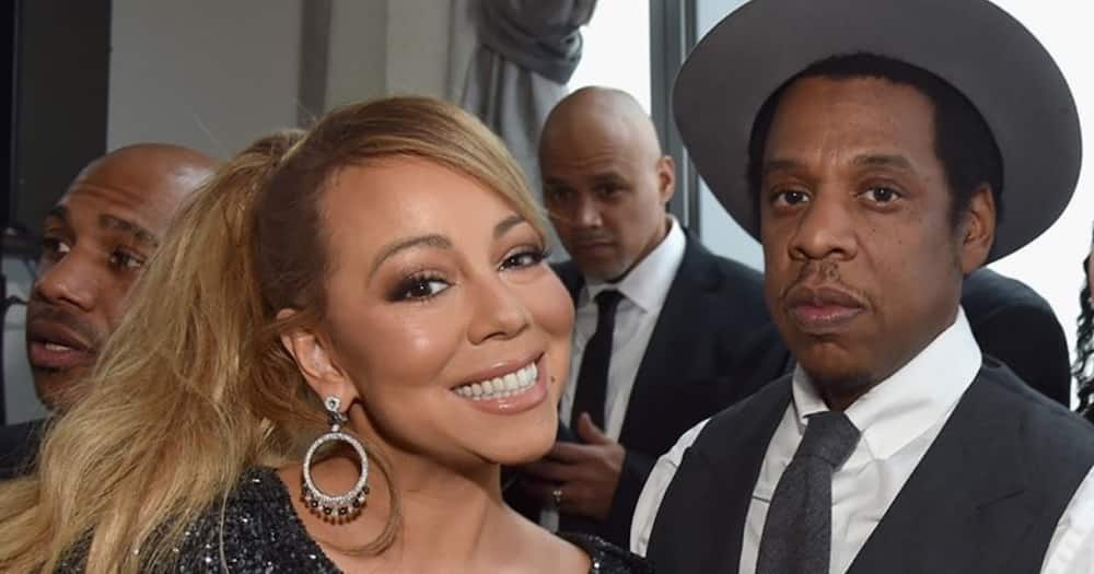 Mariah Carey denies being in a fight with Jay Z and the Roc Nation label