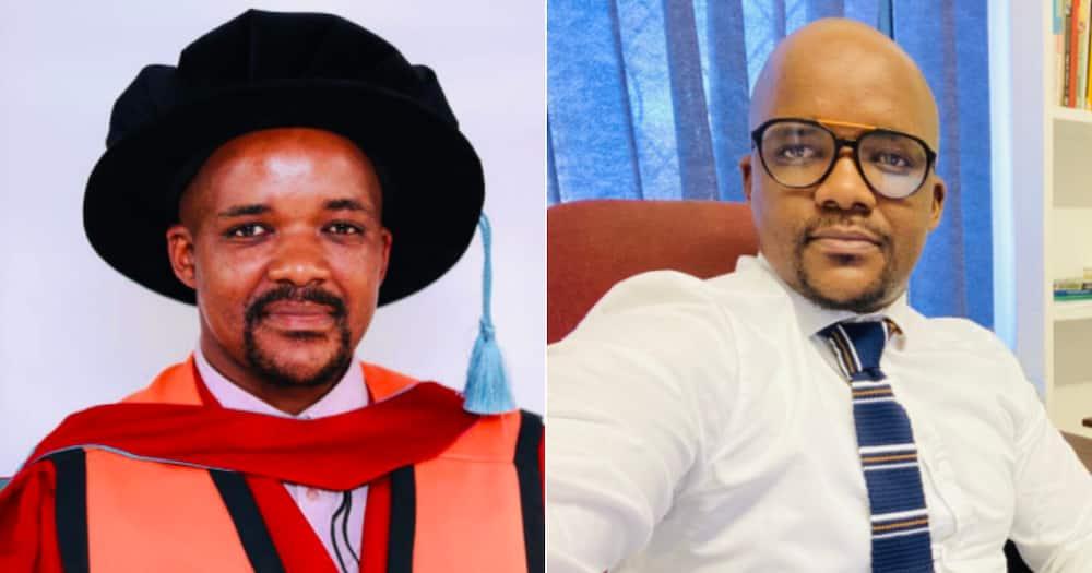 '#NQFLevel10': Man Shares Hard Copy of His PhD, Mzansi Congratulates Him