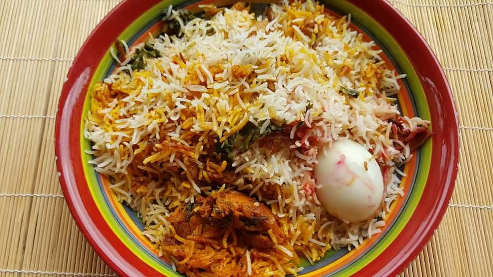 how to make chicken breyani