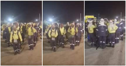 Video of George firefighters singing before nightshift inspires SA