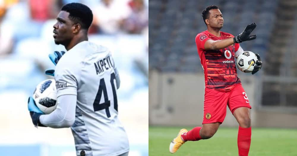 Daniel Akpeyi stands up for Itu Khune in Twitter post