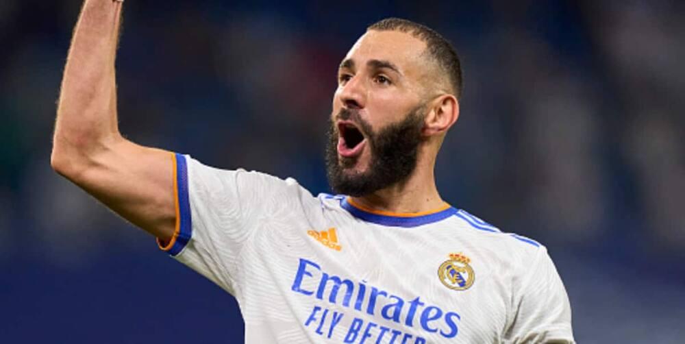 Real Madrid, La Liga, Celta Vigo, Santiago Bernabeu, Karim Benzema, Hat trick, Los Merengues