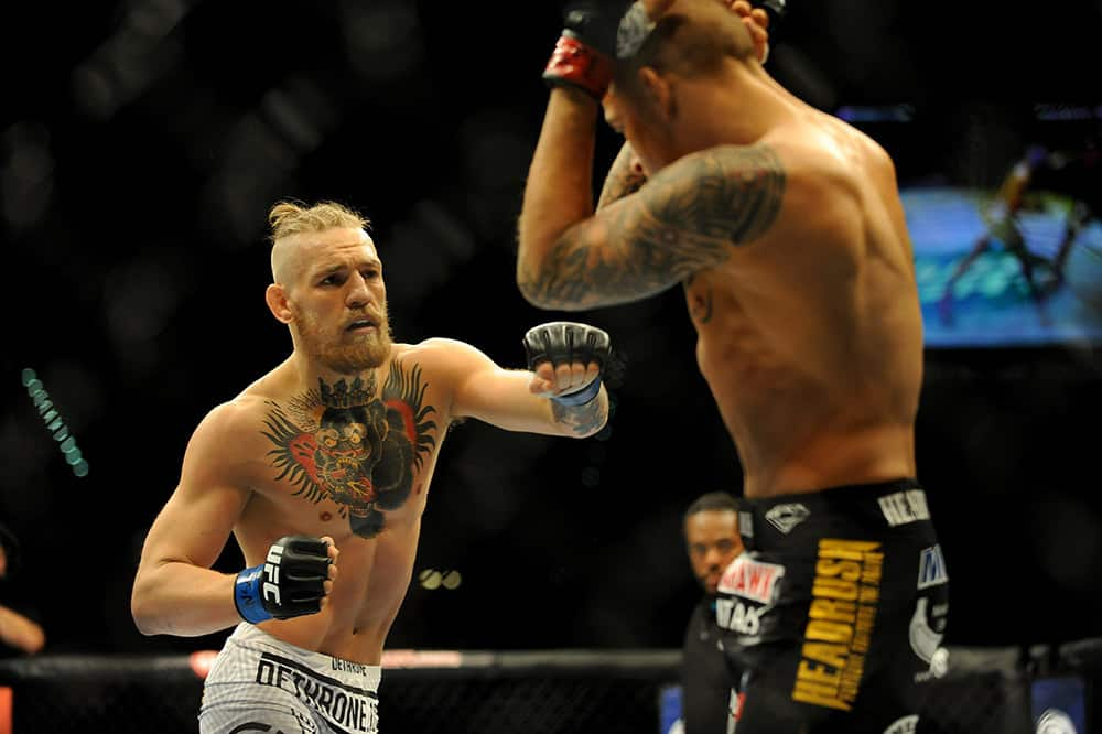 Who did Dustin Poirier lose to?