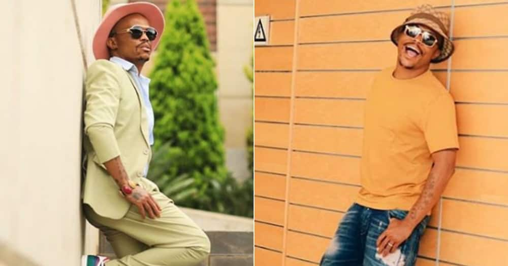 Somizi wants to know how fans recognise him with face mask on