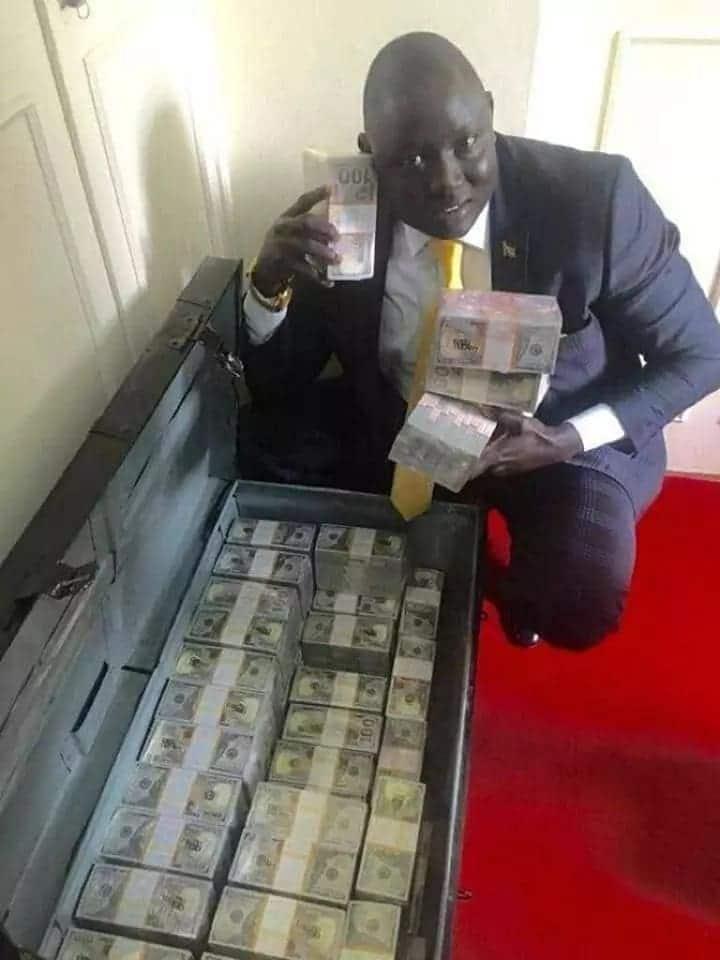 Photos of rich Sudanese man that got Nigerians talking