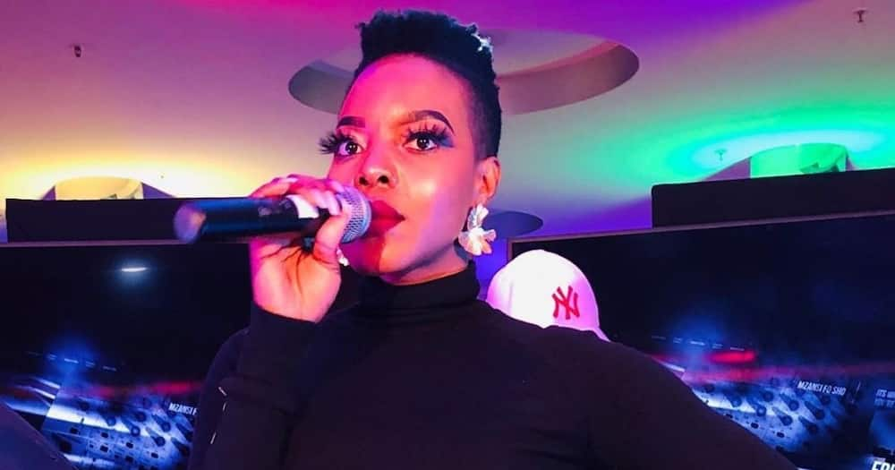Nomcebo Zikode sends her momma a shout-out, haters creep in