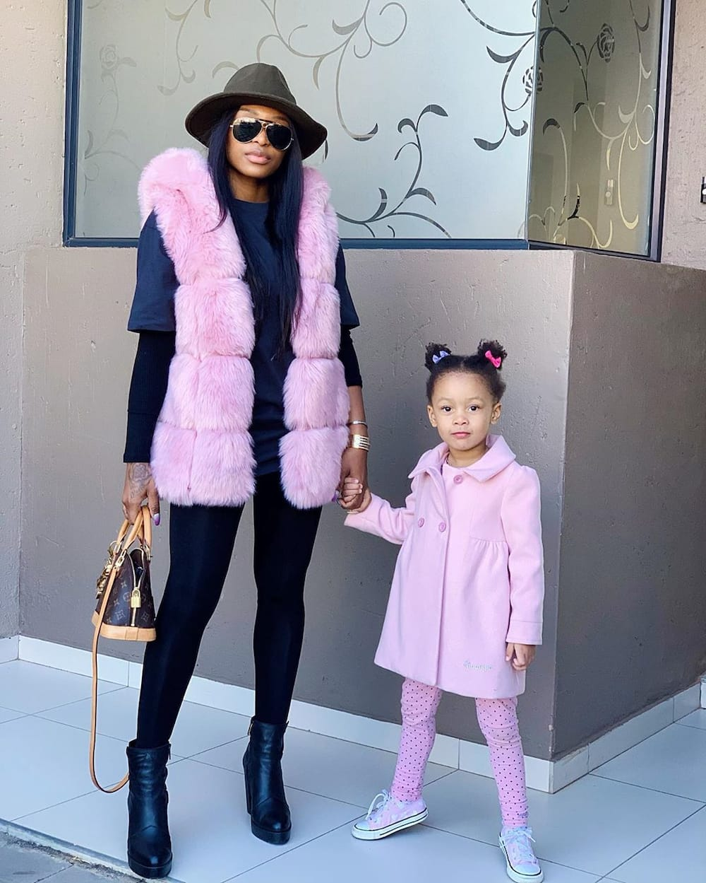 Celebrity moms and babies South Africa