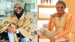 Somizi Mhlongo's spiel to Idols SA contestant has Mzansi both laughing and confused