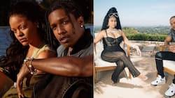"Nicki Minaj and Rihanna hang out: ""A$AP looked like he didn't wanna be there"""