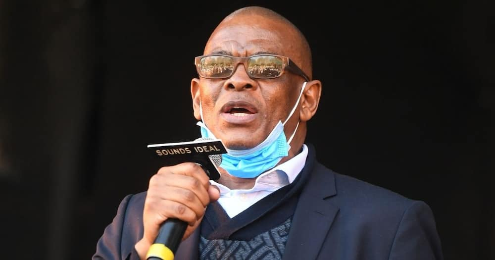 Ace Magashule, suspended SG, hails Jacob Zuma's leadership