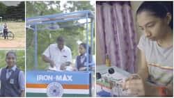 Girl, 14, invents solar powered ironing cart, revolutionises her community