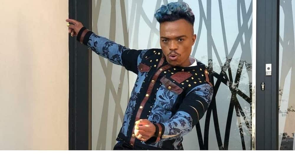 """Somizi flexes """"rich gang"""" as he leaves home to work from home"""