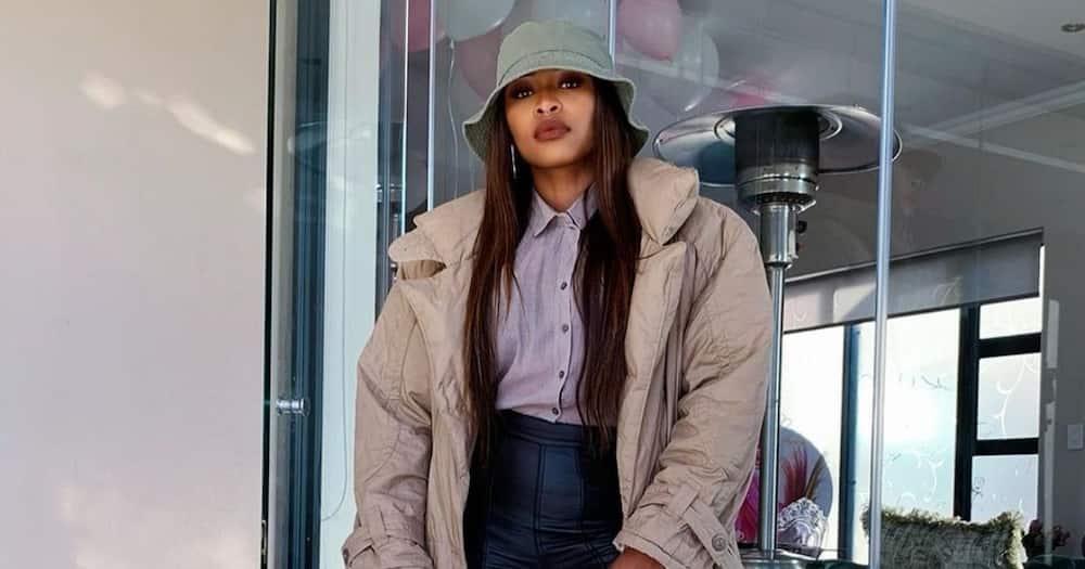 DJ Zinhle keeps promise to talented Idols SA contestant Matevhu