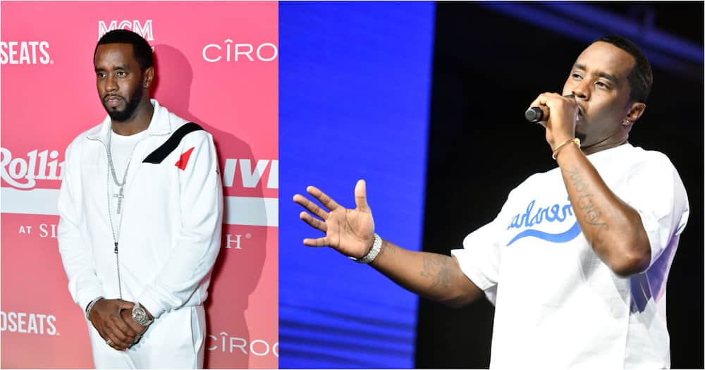 US rapper Diddy jams to Focalistic track, Mzansi reacts