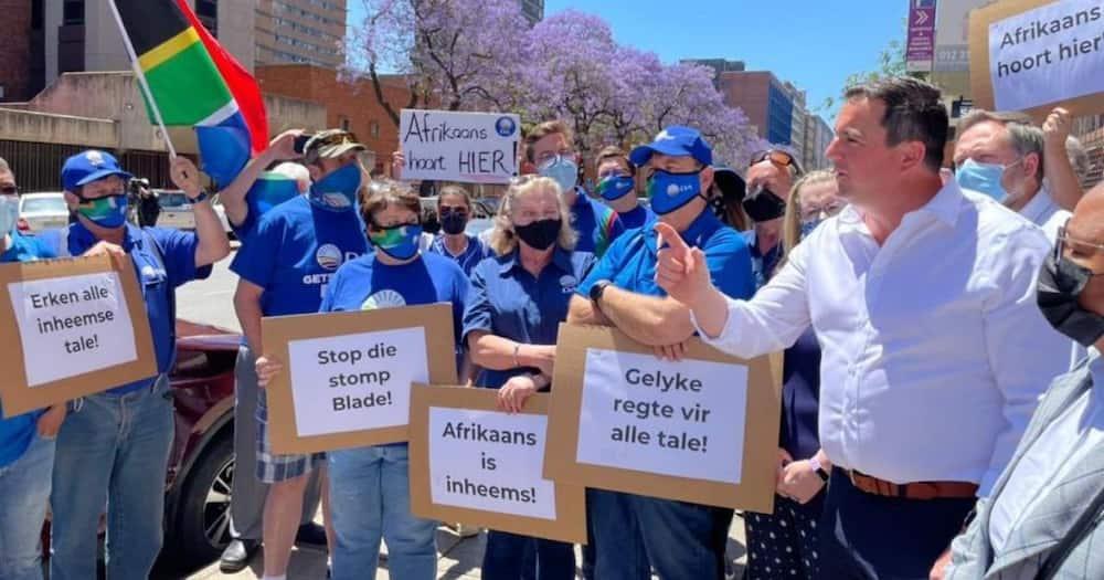 Democratic Alliance, DA, Afrikaans declared an indigenous language