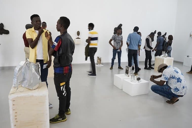 famous contemporary art gallery in africa